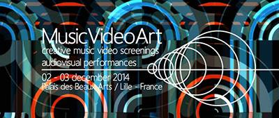 Francesc Marti MusicVideoArt Festival Lille